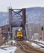 CSX  8612, CP's   Tomah   Sub.